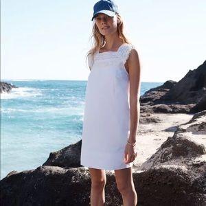 Madewell White Sundream Fringe Dress 12